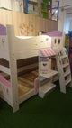 Oslo Little Whale Double Deck Bed