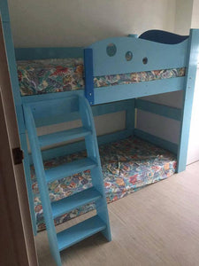 Oslo Little Whale Mid Loft Bed