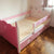 WCB Lovely Hearts Low Bed with Pullout