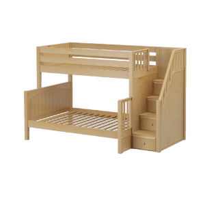 Maxtrix Medium Twin over Full Bunk w Staircase (Est. 2mths)
