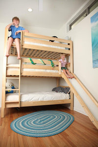 Maxtrix Triple Bunk Bed w Mounted Ladder (Est. 2mths)