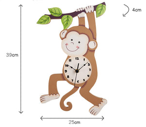 Fantasy Fields Monkey Clock