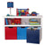 Joey's Multi-Colour Low Shelf with Compartments