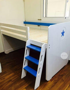 Oslo Nautical Low Loft Bed