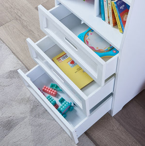 LEKEN Drawer Bookcase
