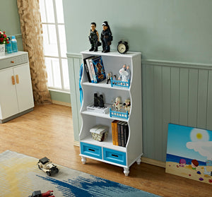LEKEN Fence Drawer Bookcase
