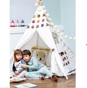 PETIT Owl Teepee With Mat and Lights