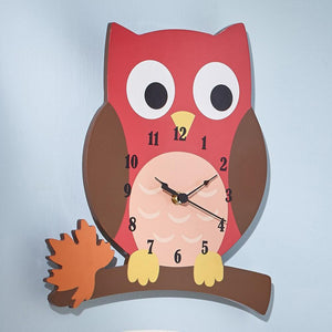 Fantasy Fields Owl Clock