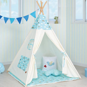 PETIT Blue Dream Clouds Teepee