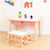 PETIT Solid Wood Playtable w Compartment