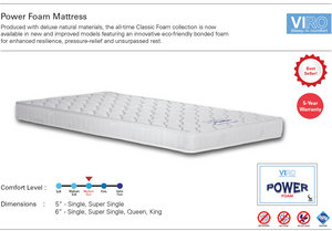 Viro Power Foam Mattress