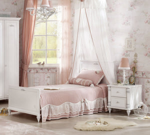 Cilek Romantica Bed (100X200 Cm Or 120X200 Cm - With Pull Out Options)