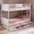 Cilek Romantica Bunk Bed (90X200 Cm) (With Pull Out Options)