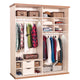 Cilek Royal Large Sliding Wardrobe