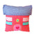Snuggle Red House Cushion