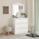 Cilek Selena Grey Dresser With Mirror