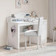Cilek Selena Grey Study Desk With Small Study Unit