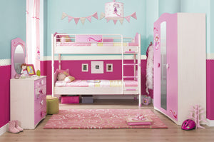 Cilek Sl Princess Dresser With Mirror