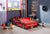 Cilek Spyder Car Bed-Red(With Mattress) (70X131 Cm)