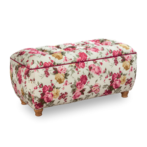 Cilek Summer Storage Ottoman With Flower