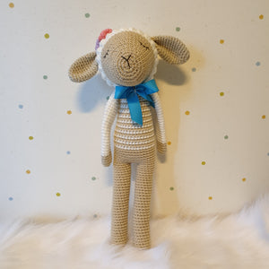 May's Hand Sheep Sheepy Standing Crochet