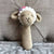 May's Hand Sheep Sheepy Long Rattle Crochet