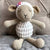 May's Hand Sheep Sheepy Sitting White Crochet