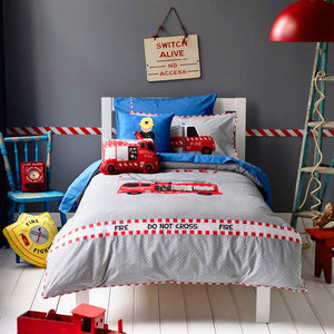 Snuggle Fire Engine Rescue Bedsheet Set