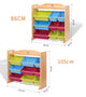 PETIT Solid Wood 9 Bins Toy Organizer (2 Sizes)