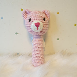 May's Hand Suri Cat Long Rattle Crochet