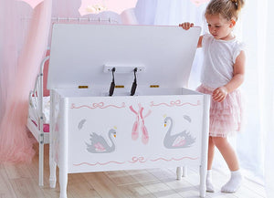 Fantasy Fields Swan Toy Storage