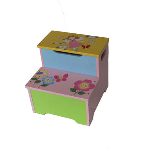 Fantasy Fairies Step Stool
