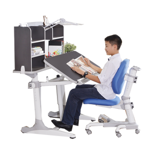 Tomato KidZ Intelligent Kids Desk & Chair (w Top Shelf & Light) 4.0