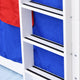 Tomato KidZ Jersey Low Bunk Bed with Trundle with Slide