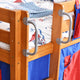 Tomato KidZ Jersey Mid Sleeper with Slide, Tower and Curtains