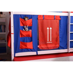 Tomato KidZ Jersey Youth Bunk Bed with SS Trundle