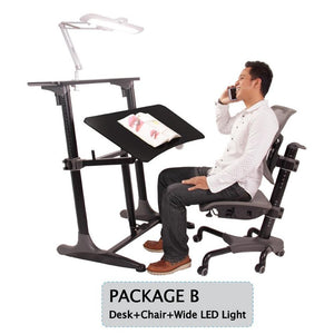 Tomato KidZ Package B Uni Workstation (Lamp, Desk & Chair)