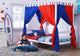 Tomato KidZ Poster Bed with Chiffon Curtain