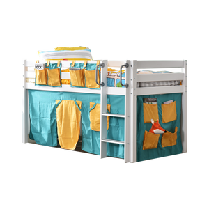 Tomato KidZ Seattle Mid Sleeper with Curtains (No slide)