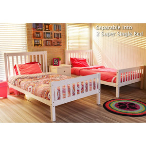 Tomato KidZ Emily Youth Bunk Bed with SS Trundle
