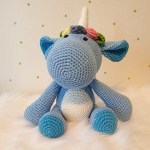 May's Hand Unicorn Sunny Cheri Crochet