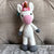 May's Hand Unicorn Pinky Standing Rattle Crochet