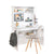 Cilek White Study Desk With Unit