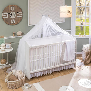 Cilek White Swinging Baby Bed (70X130)