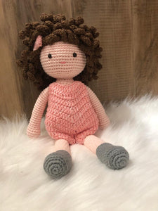 May's Hands Dress Dolly Crochet