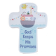 C&F Wooden God Keep His Promises Fun Plaque