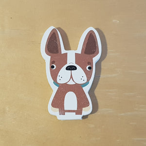 C&F Wooden Little Dog Character