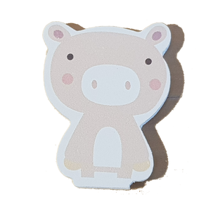 C&F Wooden Little Piglet Character