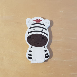 C&F Wooden Little Zebra Character