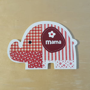 C&F Wooden Mama Elephant Character